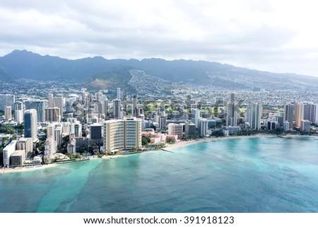 Waikiki, Hawaii - stock photo