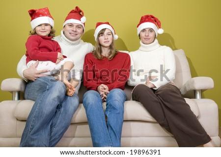 Waiting for Christmas - stock photo