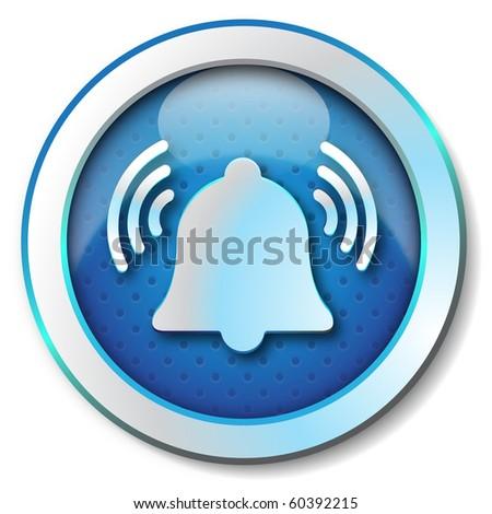 Wake icon - stock photo