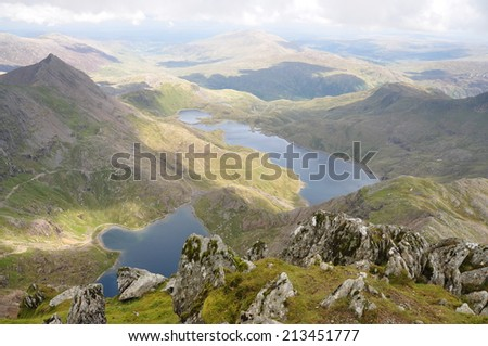 wales - stock photo