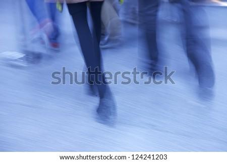 walk - stock photo