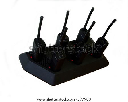 Walkie-talkies - stock photo