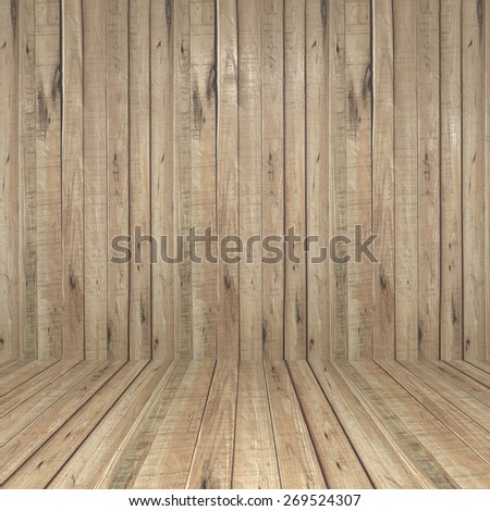 wall and floor siding weathered wood background - stock photo