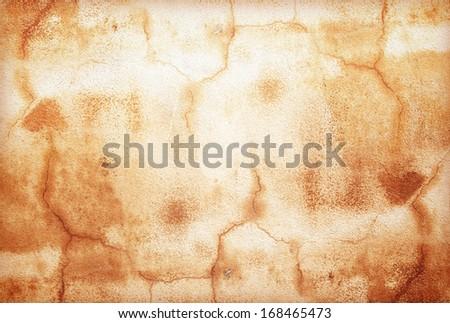 Wall background  red  rust grunge old cement weathered  - stock photo