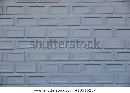 Wall Cement gray sky - stock photo