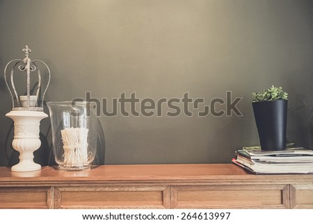 wall decorative - stock photo
