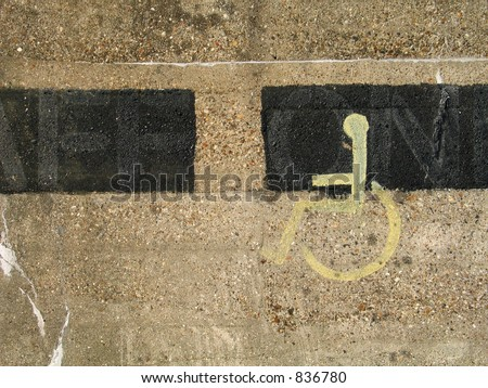 Wall detail - stock photo