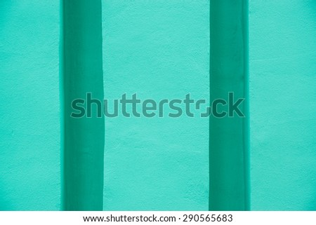 Wall detail geometry with volume - stock photo