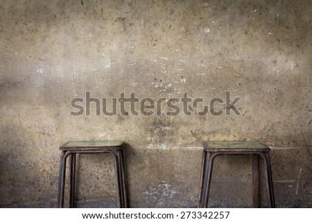 wall grunge background - stock photo