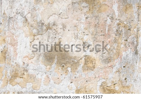 wall in pastel colors - stock photo