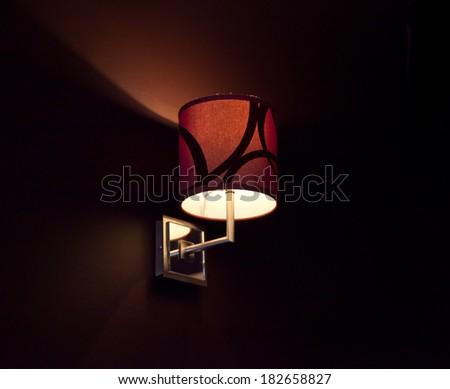 Wall Light - stock photo