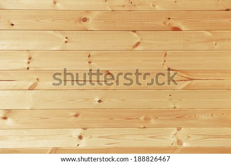 wall of light wood planks. background - stock photo