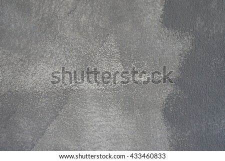 Wall Painted Two Tone, Abstract. - stock photo