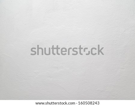 wall painted with white lime - stock photo