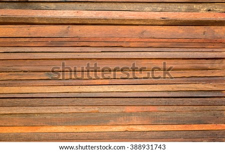 Wall planking Arrange a layer Style abstract background,Wooden board brown tones,The orientation is horizontal - stock photo