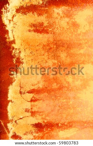 wall rusted texture - stock photo