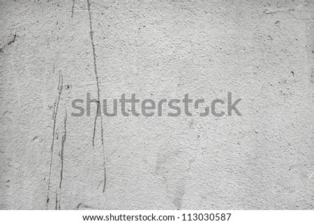 Wall texture with paint droplets - stock photo
