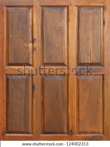 Wall wood background - stock photo