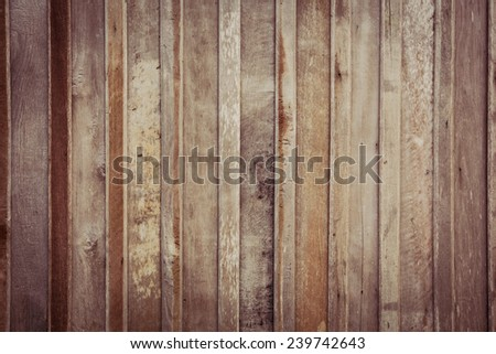 Wall Wood Backgrounds & Textures - stock photo