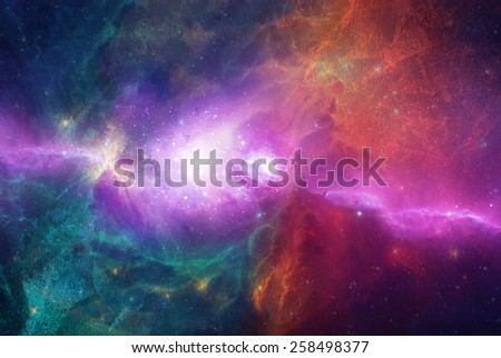 wallpaper space full color  - stock photo