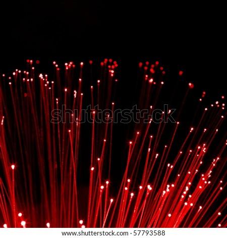wallpaper with intetnet technology concept showing fiber opticsc - stock photo