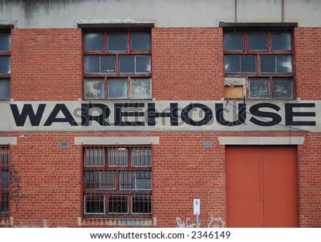 Warehouse Wall - stock photo