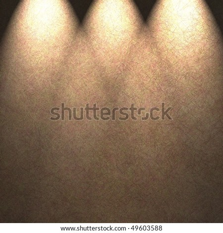 warm brown abstract background with abstract spotlight design - stock photo