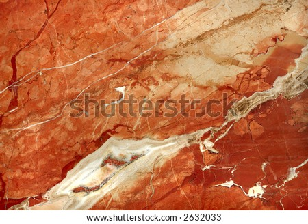 warm colored natural marble texture background - stock photo