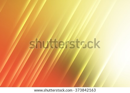 Warm colors with lines used to create abstract background - stock photo
