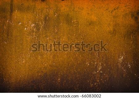 warm rusty grunge textured background - stock photo