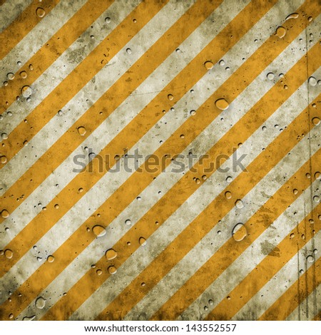 Warning background with abstract stains - stock photo