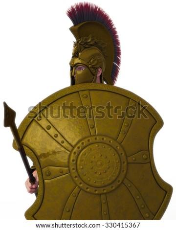 warrior 2 - stock photo
