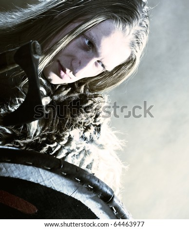 Warrior - stock photo