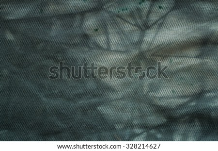 Washed jeans fabric abstract background.  - stock photo