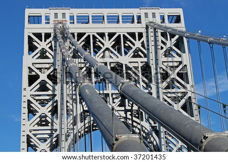 Washington Bridge - stock photo