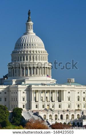 Washington D.C. - Capitol Building - stock photo