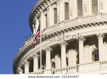 Washington DC , Capitol Building - stock photo