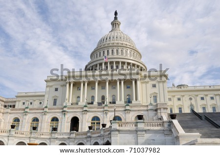 Washington DC Capitol Hill White House - stock photo