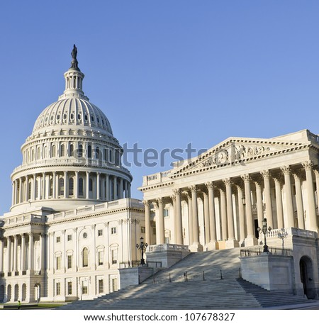 Washington DC, Capitol , USA - stock photo