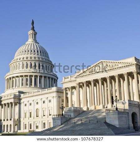 Washington DC, Capitol , USA - stock photo