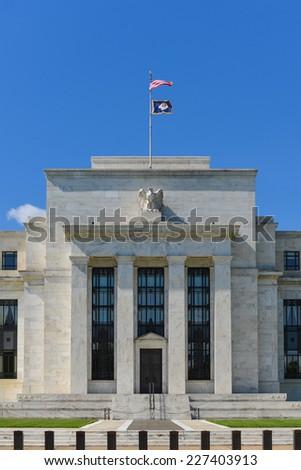 Washington DC - FED building - stock photo