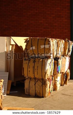 waste management one - stock photo