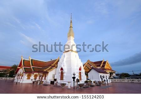 Wat Pha That Choeng Chum,Thailand - stock photo