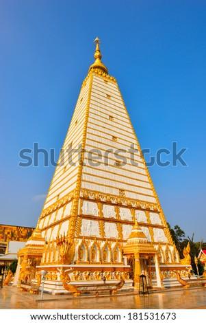 Wat Pha That Nong Bua : Ubon Ratchathani Thailand - stock photo