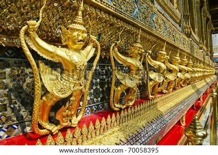 Wat Phra Keo, Bangkok, Thailand - stock photo