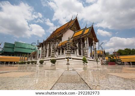 Wat Suthat Thailand - stock photo