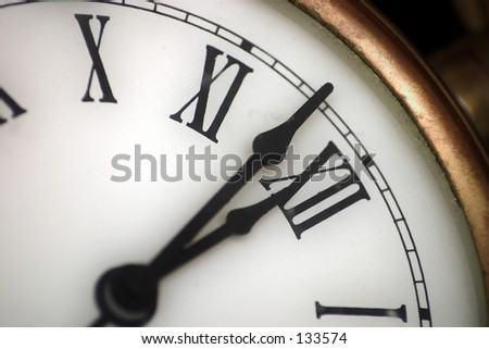 Watch Series: be on time - stock photo