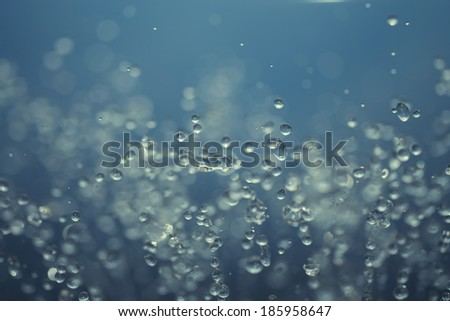 Water abstract - stock photo