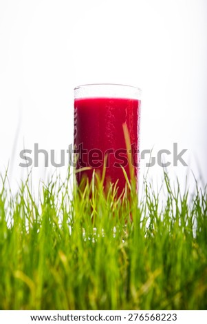 Water and glass - stock photo