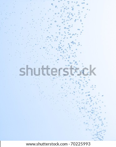 water bubbles high quality - stock photo